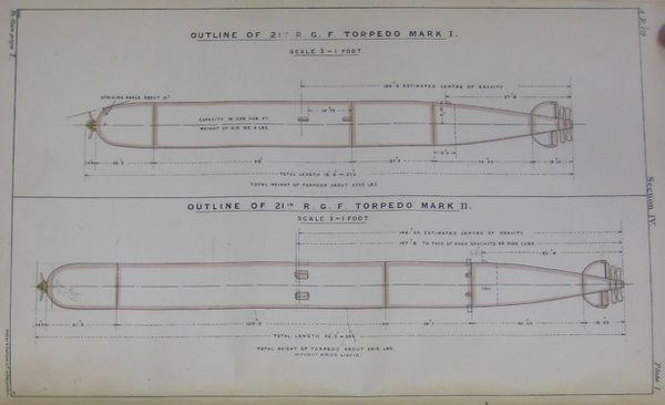 21-in mark ii torpedo  uk