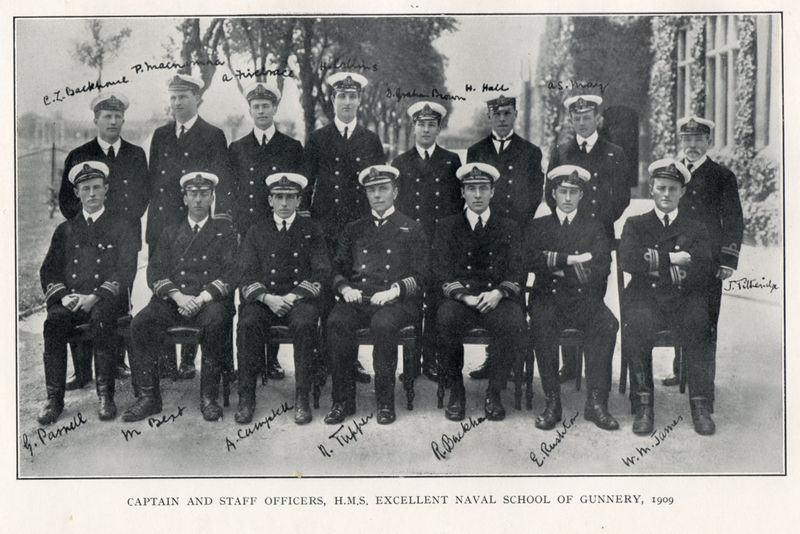 File:H.M.S. Excellent Staff Officers, 1909.jpg